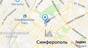 Крымская Республиканская клиническая психиатрическая больница №1 на карте