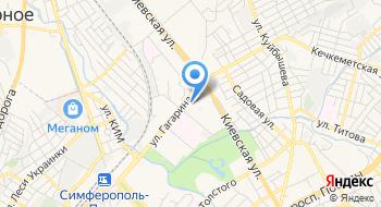 Газета Объявления Крыма на карте