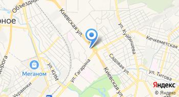 Установка кондиционеров в Симферополе на карте
