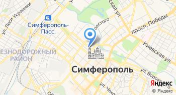 Видеонаблюдение Крым на карте