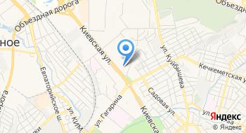 Ассоциация курортов Крыма на карте