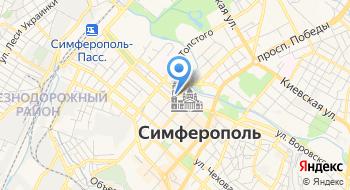 Партнеры РФЭИ в Крыму на карте
