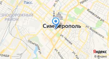 Храм Св. Рвап. Марии Магдалины Симферопольской и Крымской епархии на карте
