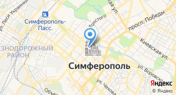 Настольный город на карте