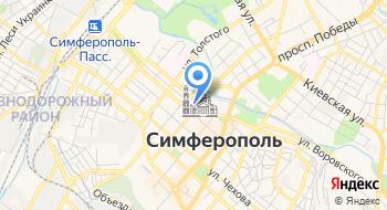 Управление ПФР в г. Симферополь клиентская служба Железнодорожного р-на на карте