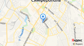 Сруб Крым на карте