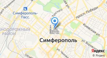 Крымское республиканское учреждение Научно-методический центр культуры, искусства и народного творчества на карте