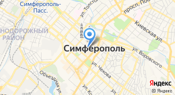 Крымский пресс-клуб на карте