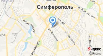 Отделение ПФР по Республике Крым на карте