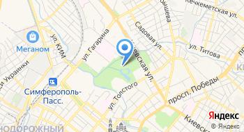 Парк имени Гагарина на карте