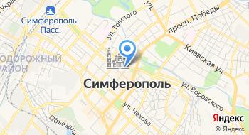 Крымтелеком на карте