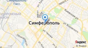 Искусственные ёлки в Крыму на карте