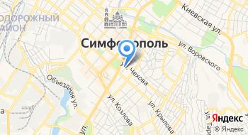 Центральный районный суд города Симферополя РК на карте
