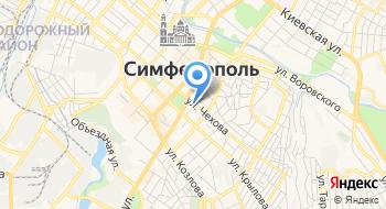 Центральный районный суд города Симферополя Республики Крым на карте