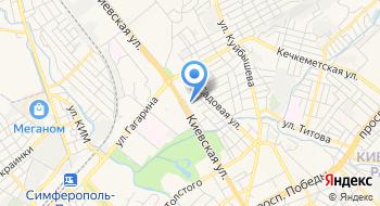Управление ПФР в г.Симферополь клиентская служба Киевского р-на на карте