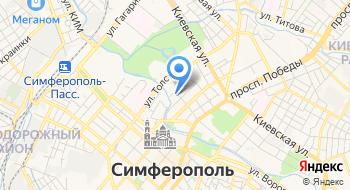 Отдел полиции № 2 Киевский УМВД России по г. Симферополю на карте