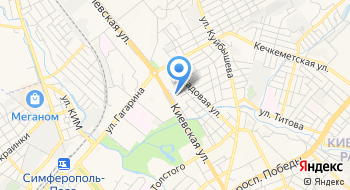 Главное Управление Пенсионного Фонда России в г. Симферополе Республики Крым на карте