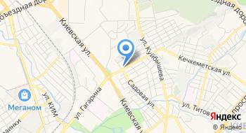 Таврическая школа-гимназия №20 на карте