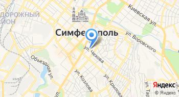 Офис Крымспортобеспечение на карте