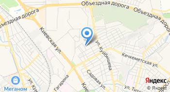 Симферопольская поликлиника № 4 на карте