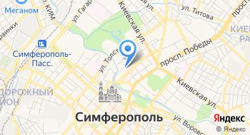 Тесс Тур Крым на карте