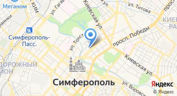 """Оценочная компания Крыма """"Симф Эксперт"""" на карте"""