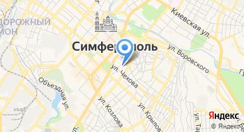 Крымское республиканское бюро технической инвентаризации на карте