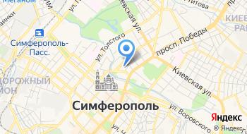 ФКУЗ МСЧ МВД России по Республики Крым Поликлиника №1 на карте