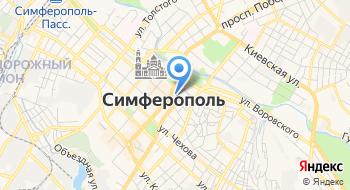 Представительство МИД России в г. Симферополе на карте