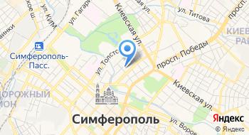 Представительство СО ЕЭС в г. Симферополь на карте