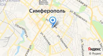 Профилактическая дезинфекция Симферопольского района на карте