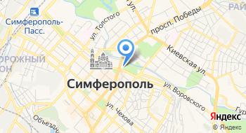 Такси Симферополь-Севастополь на карте