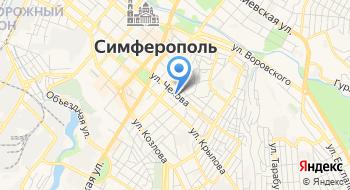 ГБУЗ РК Симферопольская поликлиника №3 на карте