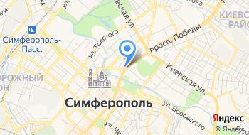 МВД по Республике Крым на карте