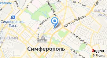 Симферопольский Клинический Родильный Дом № 2 на карте