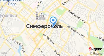 Двери Маркет Крым на карте