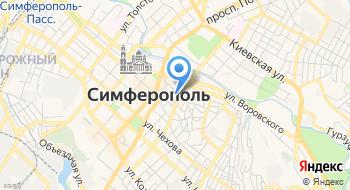 Ремонт телевизоров в Симферополе на карте