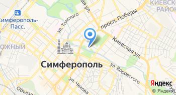 Симферопольское музыкальное училище имени П. И. Чайковского на карте