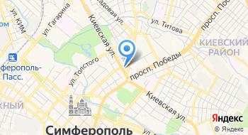 ОСП по Симферопольскому району на карте