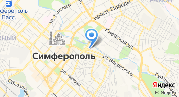 Симферопольский Клинический Родильный Дом № 1 на карте
