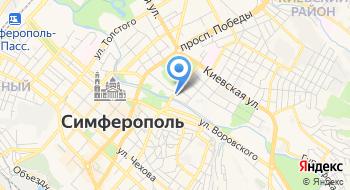 Отдел регистрации рождения города Симферополя департамента ЗАГС МЮ РК на карте