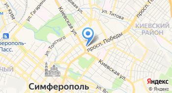 Креди Агриколь Банк на карте