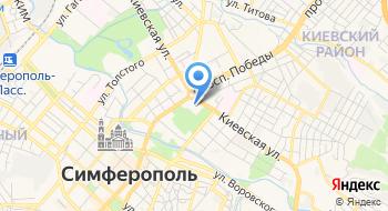 Симферопольское отделение Украинской Федерации Йоги на карте