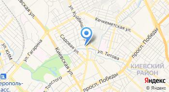 Фирма КрымАзсКомплект на карте