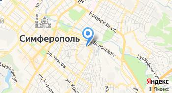 Общежитие №1 Таврического Национального университета им. В.И. Вернадского на карте