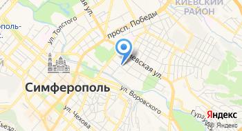 Крымская республиканская Детская библиотека им. В.Н. Орлова на карте