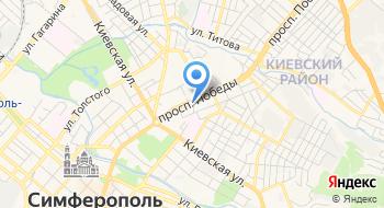 Поездки Крыма на карте