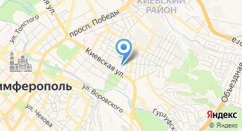Государственное бюджетное общеобразовательное учреждение Республики Крым Симферопольская специальная школа-интернат №2 на карте