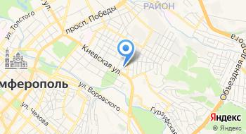 Фгбун институт археологии Крыма РАН на карте