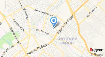 Симферопольский гериатрический пансионат на карте